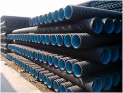 塑钢缠绕波纹管批发_HDPE波纹管_HDPE双壁波纹管生产厂家