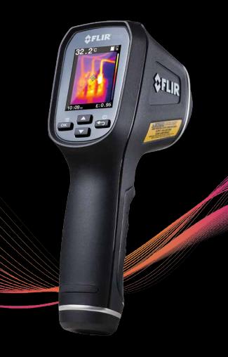 红外线单点热像仪温度测量_保护膜网