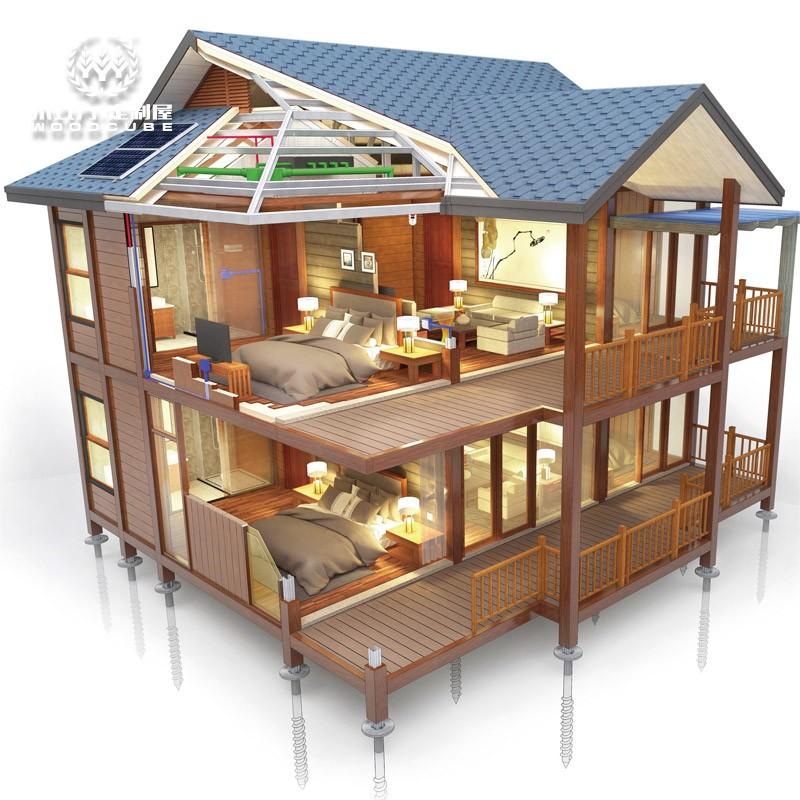 集成房屋生产_新型钢结构