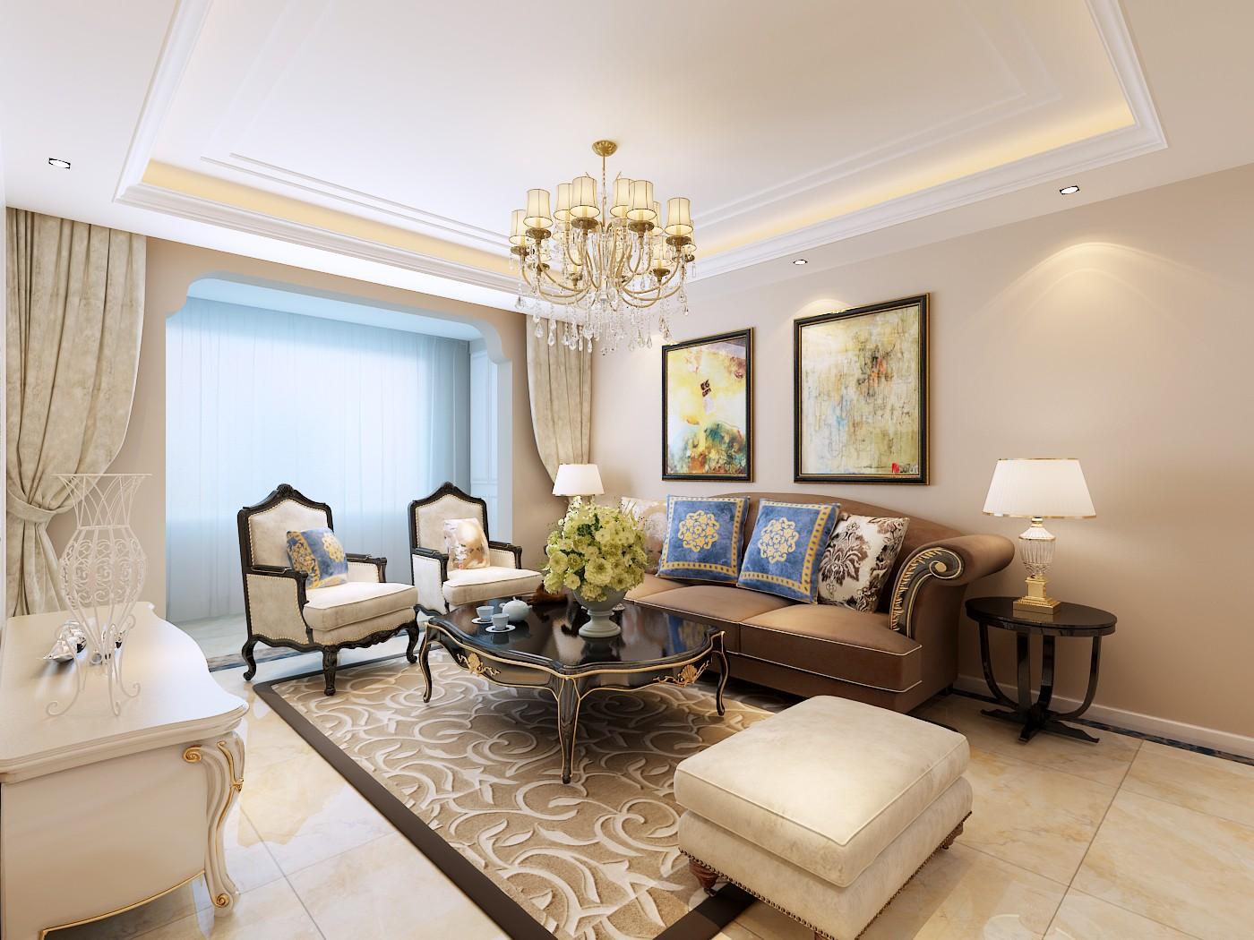 这种风格从整体到局部,从空间到室内陈设塑造,精雕细琢,给人一丝不苟