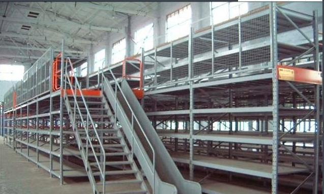 阁楼货架供应厂家_专业仓储货架-江苏金潞存储设备有限公司