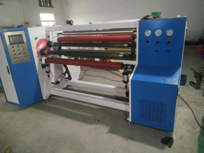 薄膜胶带全自动复卷机生产厂家_全自动保鲜膜复卷机相关-上海睦越机电科技有限公司