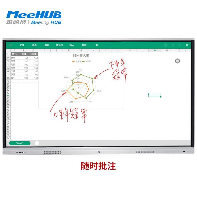 """MeeHUB P6系列会议平板 65""""75"""" 86""""_平板"""