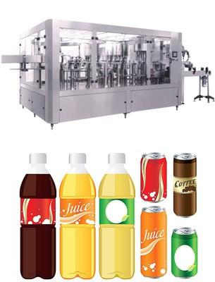 香蕉牛奶饮料灌装设备价格_整套酒及饮料生产设备生产线-河南百冠机械设备有限公司