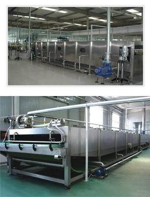 食品喷淋杀菌机生产厂家_杀菌机、干燥机厂家直销-河南百冠机械设备有限公司