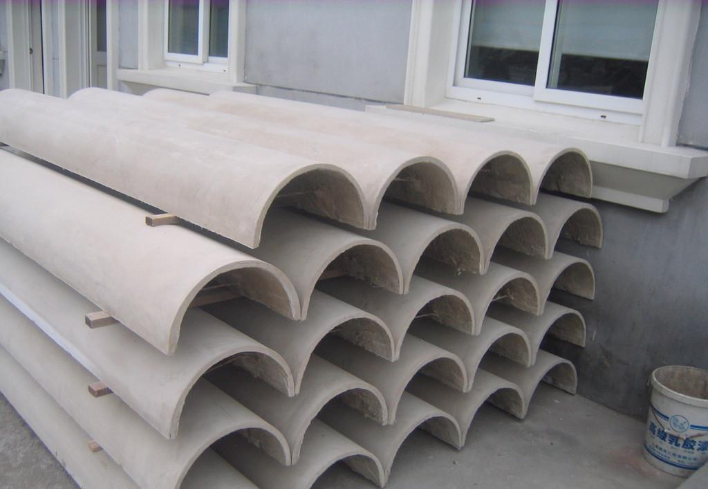 优质GRC罗马柱 外墙欧式构件GRC线条 南京安邦装饰工程无限公司