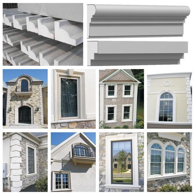 外墙EPS门窗套构件/南京EPS罗马柱构件/南京安邦装饰工程无限公司