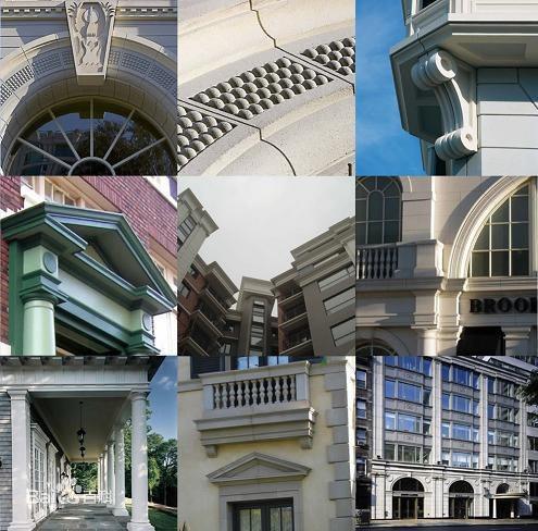 欧式GRC线条-欧式GRC门窗套-南京安邦装饰工程无限公司