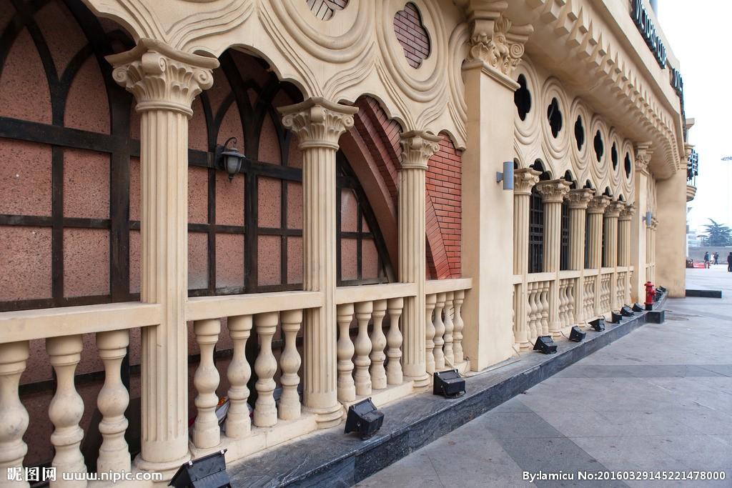 高层欧式构件厂家 优质GRC罗马柱厂家 南京安邦装饰工程无限公司