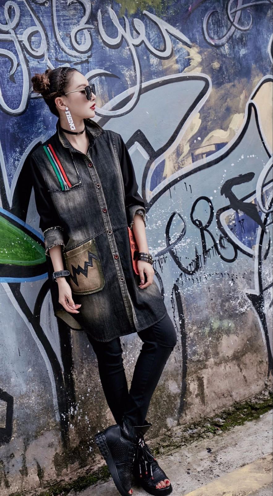 新款潮流女装品牌有哪些 广州女装批发网 广州韩景域意服饰有限公司
