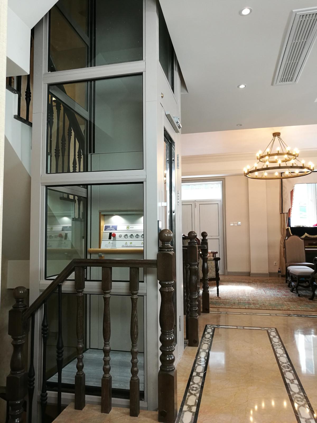 上海家用提升梯尺寸_华夏玻璃网
