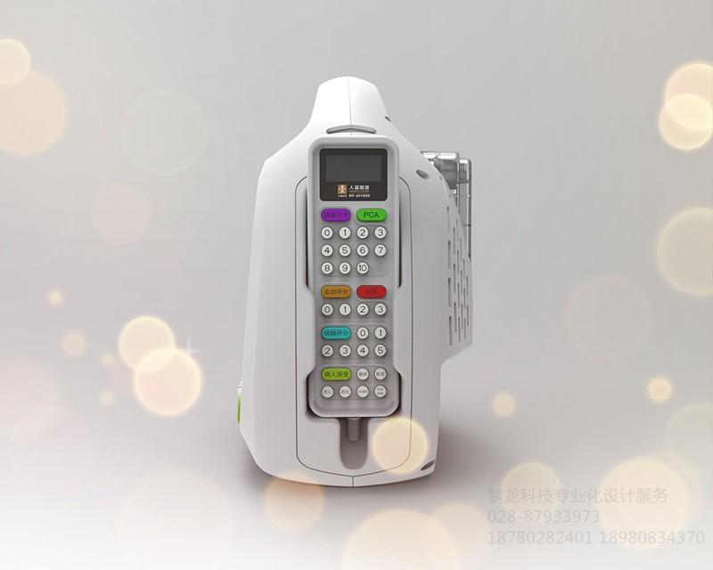 新型医疗智能检测仪器外观造型_91采购网