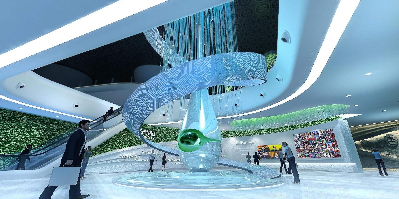 郑州规划展示馆 河南文化展示厅 河南国创展览展示有限公司