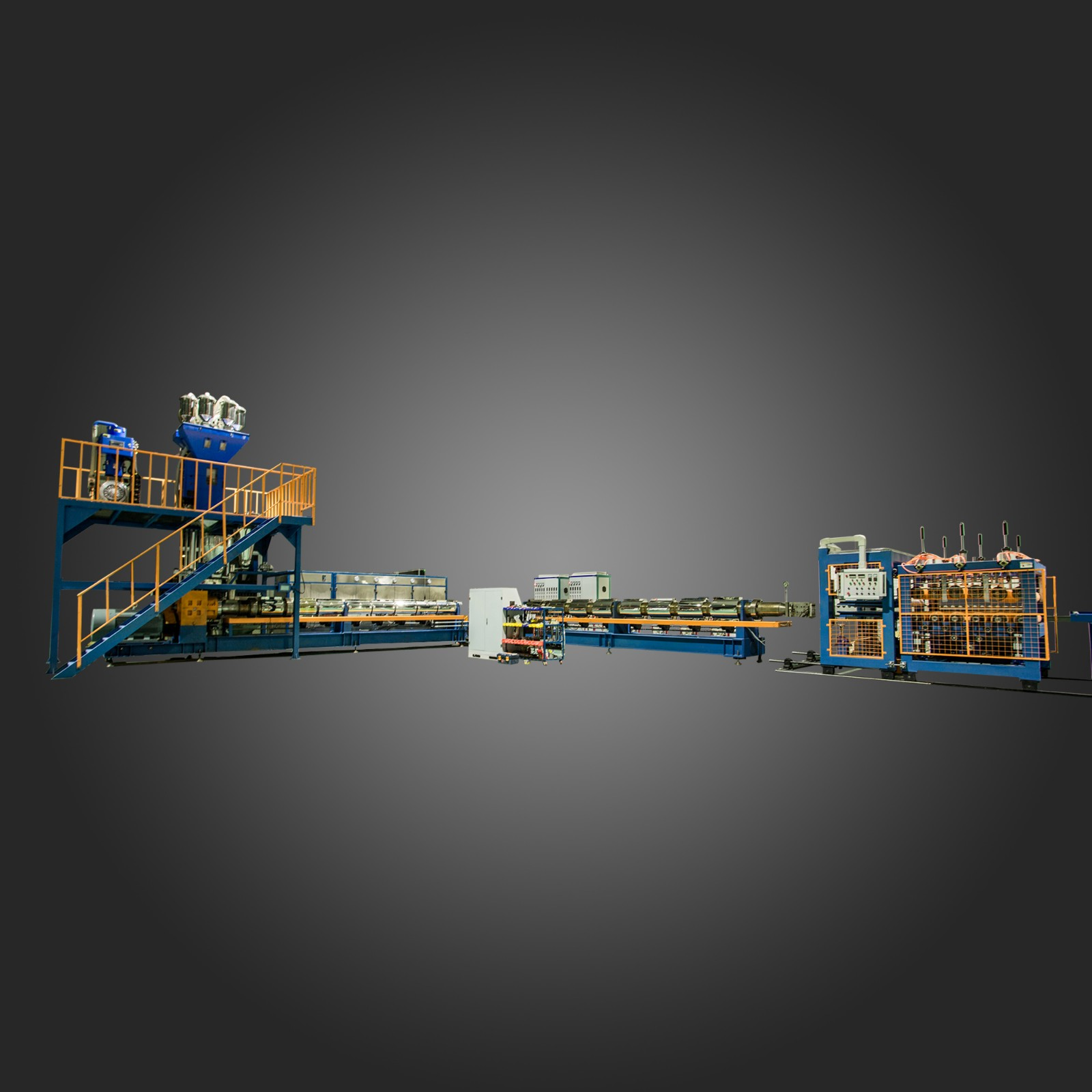新型二氧化碳发泡挤塑板生产线制造厂家_商机天下网