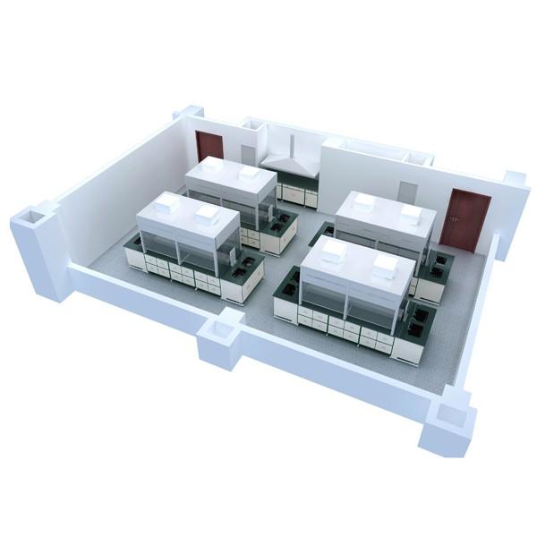 广东实验室设计公司哪里有/实验室多功能集成吊塔价格/广东天赐湾实验室装备制造有限公司