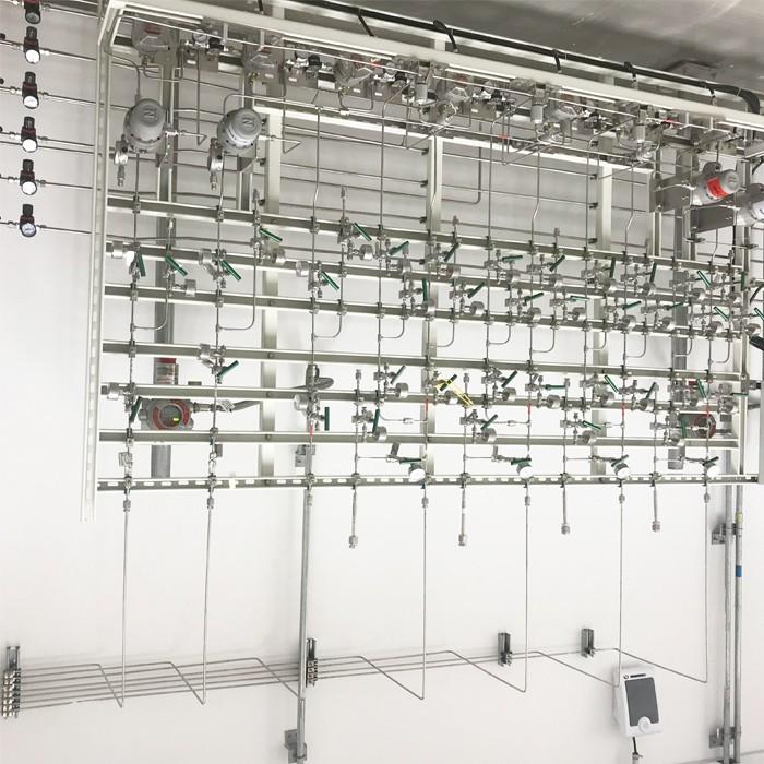 化学实验室气体管道工程施工-高端实验室装修方案-广东天赐湾实验室装备制造有限公司