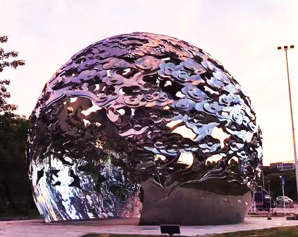 不锈钢雕塑 时代广场玻璃钢雕塑原创作品 深圳市展羽雕塑工程有限公司