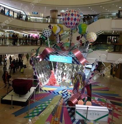 香港商业美陈雕塑厂家_正佳海洋馆水泥雕塑过道_深圳市展羽雕塑工程有限公司