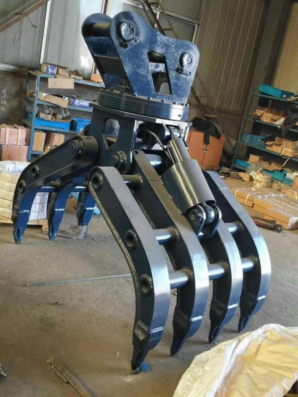 20T挖机专用液压抓斗抓钢机_华夏玻璃网