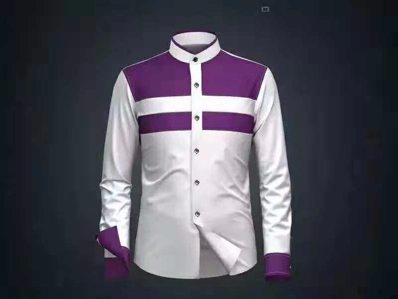 专业男士衬衫定制哪里有_时尚男式衬衫哪家好-深圳市鹤柏瑞斯服饰有限公司
