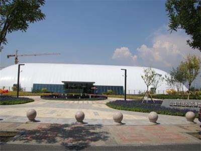 法拉利膜材料-江苏伟勃智能装配式充气膜结构有限公司