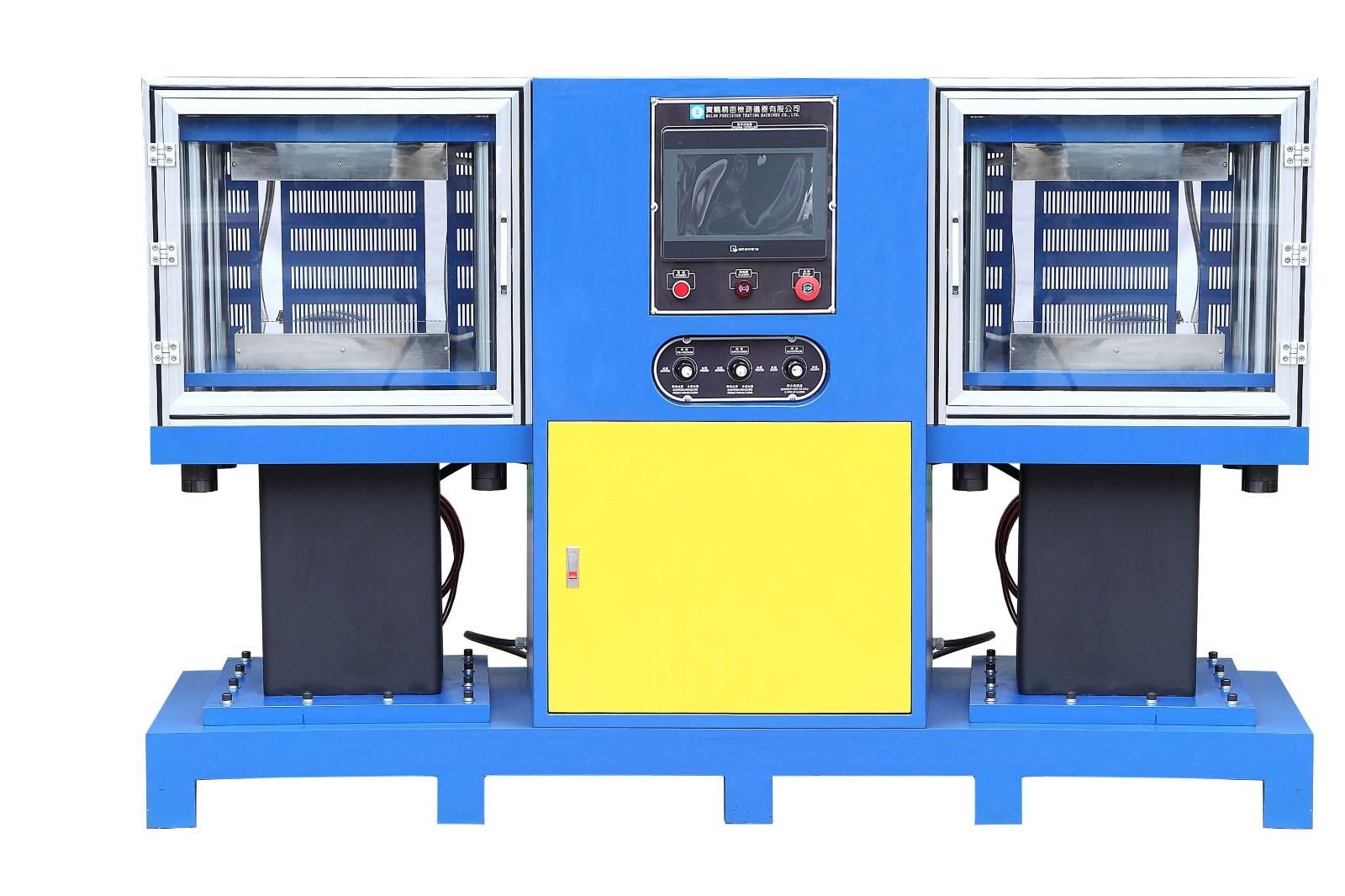 硫化机厂家-双联硫化机价格-东莞市宝轮精密检测仪器有限公司