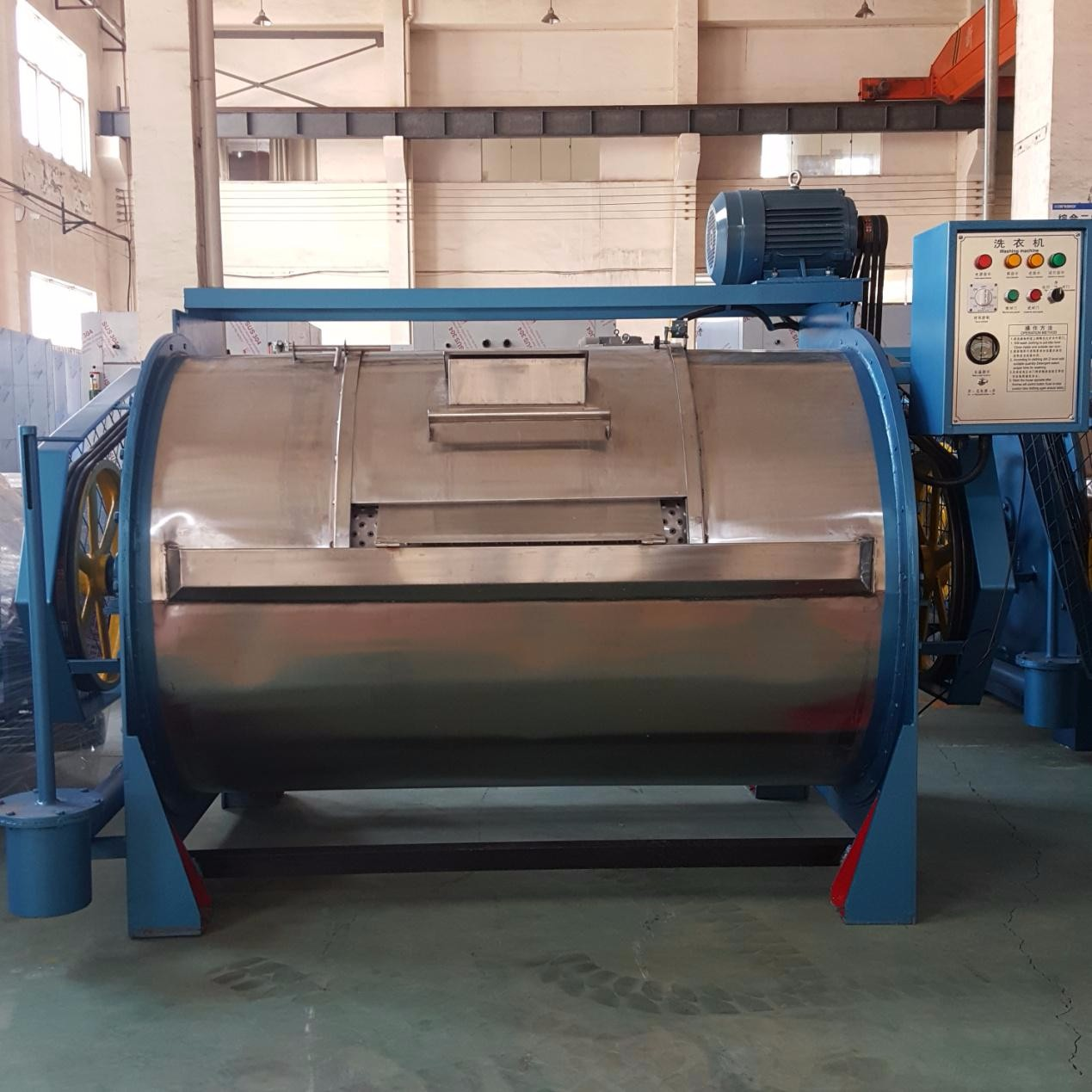 哪里的工业洗衣机质量好/效果好折叠机厂家/泰州锦衣卫机械制造有限公司