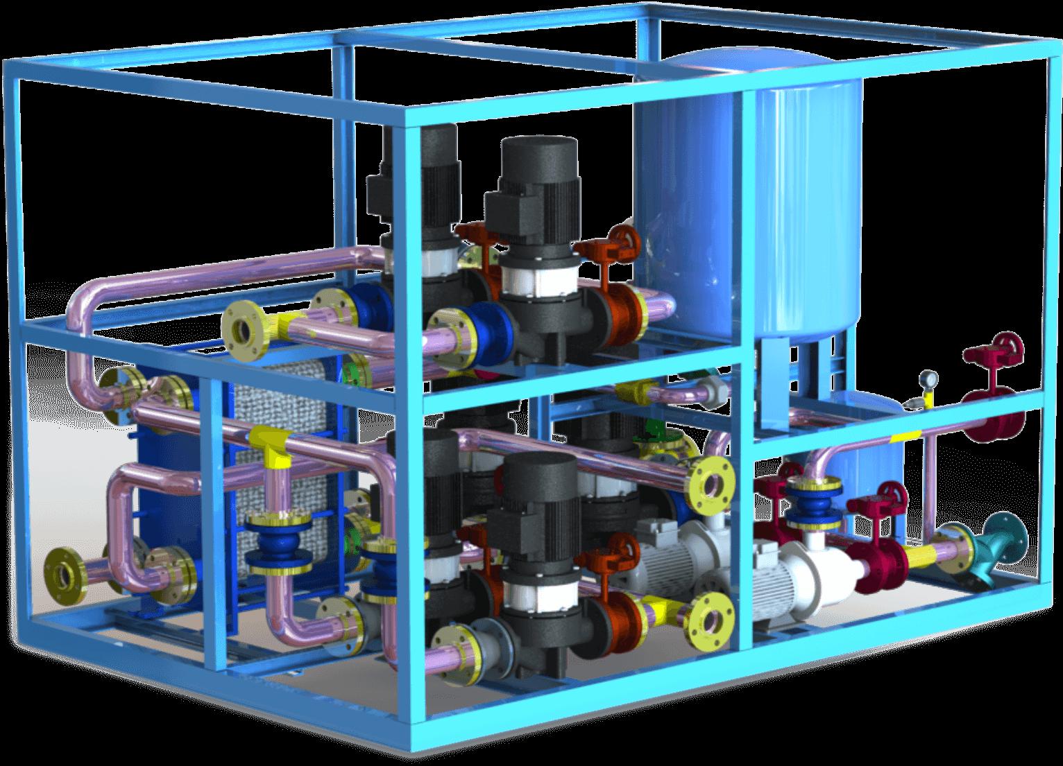 换热机组安装/低氮锅炉超静音运行/西安中盛节能科技有限公司