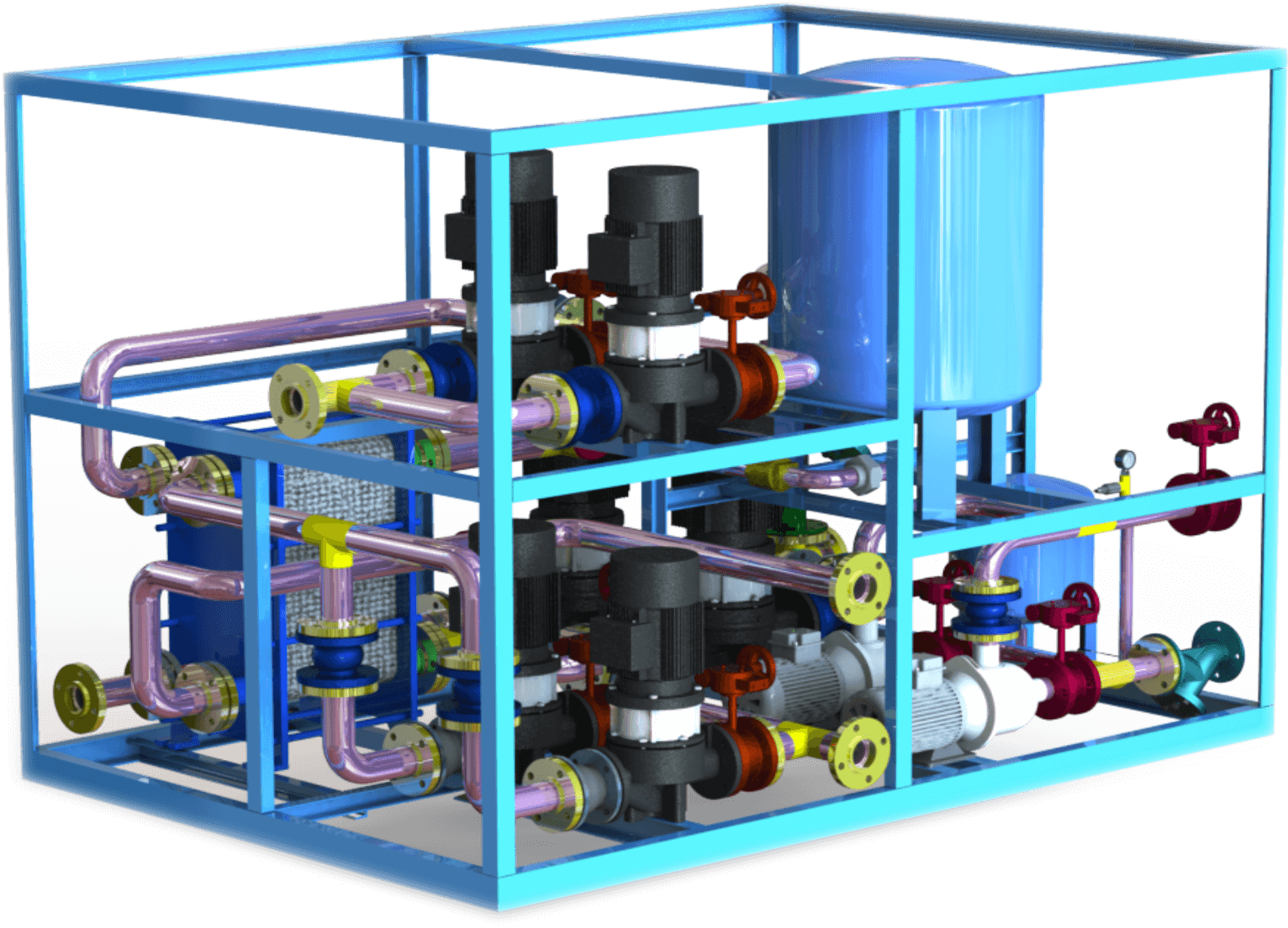 供暖设备工程安装-净水设备租赁共享-西安中盛节能科技有限公司