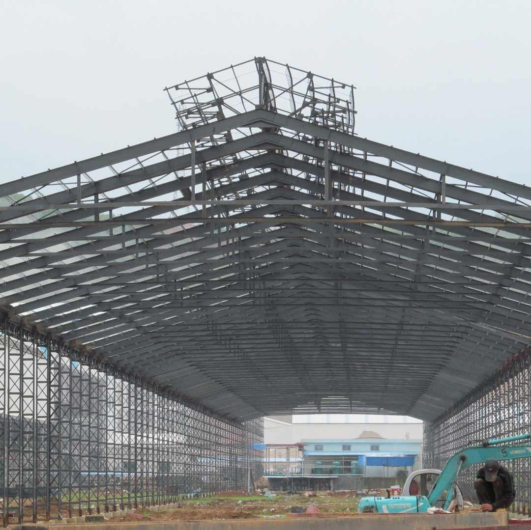 佛山轻钢结构厂房_钢结构