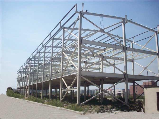 H型钢结构公司哪家好_钢结构加工厂_重庆新潮钢结构工程有限公司