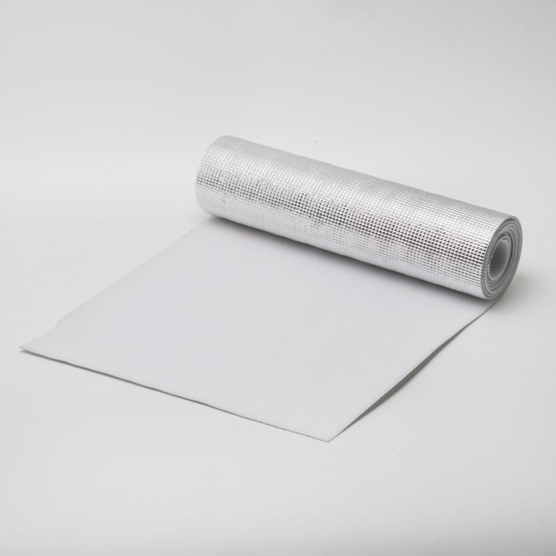 树皮纹铝膜复合珍珠棉-银色隔热材料生产厂家-上海一定实业有限公司
