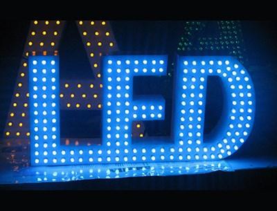 LED亚克力吸塑发光字_深圳发光字厂家相关