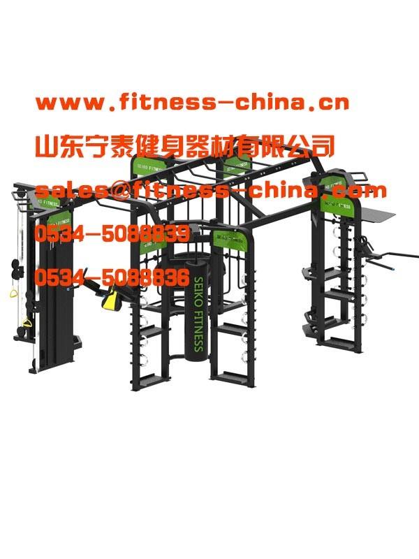 专业综合训练器厂家直销 跑步机 我们推荐健身车制造商物有所