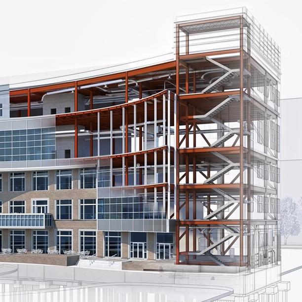 康复医院bim设计案例-民营医院软装设计-上海优信建设工程有限公司