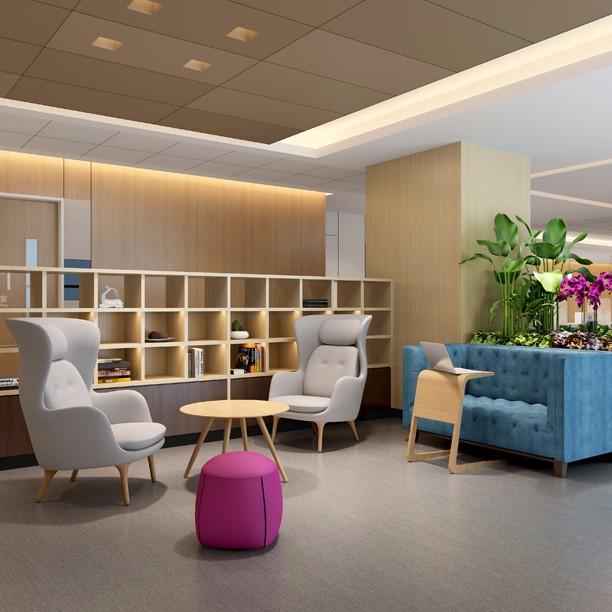 外资医院软装设计方案-综合医院规划设计案例-上海优信建设工程有限公司