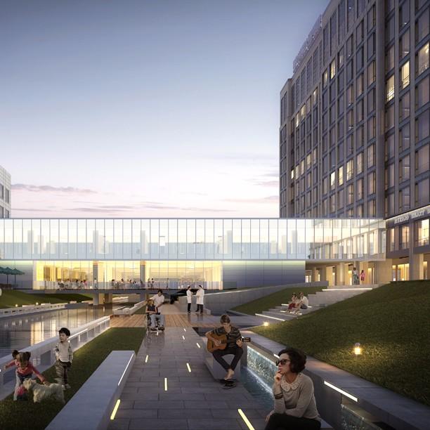 肝病医院建筑设计案例 专科医院室内设计参考 上海优信建设工程有限公司